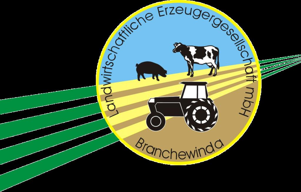 Logo der Landwirtschaftlichen Gesellschaft mbH Branchewinda